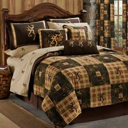 Browning Country Bed-in-a-Bag Set with Patchwork Theme
