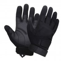 Covert Low Profile Padded Black Tactical Gloves