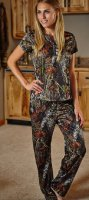 Women's Mossy Oak Breakup Camo Lounge Shirt & Pants Set