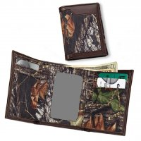 Casual Series Mossy Oak Break Up Nylon Tri-Fold Wallet 200531