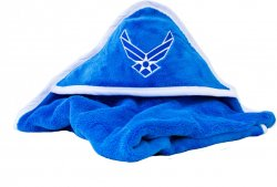 United States Air Force Insignia Blue Baby Blanket Soft Fleece