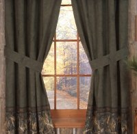 Browning Whitetails Collection Rod Pocket Drapes