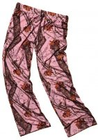 Wilderness Women's Mossy Oak Break-Up Pink Camo Pants 605135