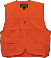 Men's Blaze Orange Safety Front Loader Hunting Vest 3353-84