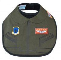 Licensed U.S. Air Force Flight Suit Bib