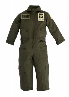 Kids United States Army Replica Flight Suit Sage Green