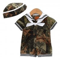 Baby Boys Dress Me Up Sailor Outfit 2 Pc