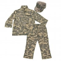 US Army ACU Camo 3PC Kids Replica Uniform Set