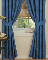 Coral Reef Rod Pocket Curtains Pair