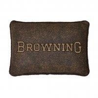 "Licensed Browning 3D Oblong Pillow 14"" x 20"""