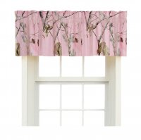Realtree AP Pink Camo Window Valance