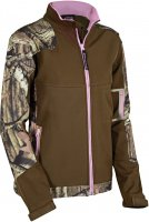 Yukon Gear Women's Windproof Softshell Jacket Breakup Country