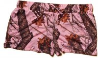 Wilderness Women's Mossy Oak Break-Up Pink Camo Shorts 605035
