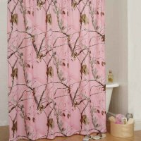 "Realtree AP Pink Camo Shower Curtain 72"" x 72"""