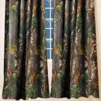 Realtree Hardwoods Green HD Camo Pattern Drapes