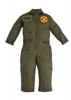 Kids United States Marine Corps Replica Flight Suit Sage Green