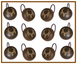 Bone Collector Logo Shower Curtain Hooks 12 Pk.