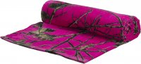 "Blazing Pink Forest Camo 30"" x 60"" Premium Beach Towel"
